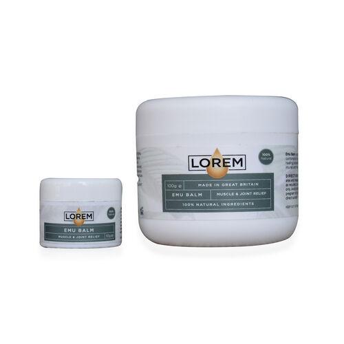 Lorem: Emu Balm (Pain Relief) - 100g & 10g