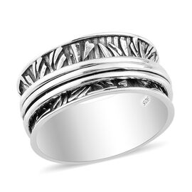 Sterling Silver Stackable Ring, Silver wt. 6.80 Gms