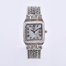 DOD - Royal Bali Collection - EON 1962 Swiss Movement Water Resistant Bracelet Watch (Size 7.5) in S