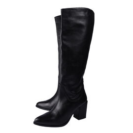 Ravel Lumsden Knee-High Leather Boots (Size 3) - Black
