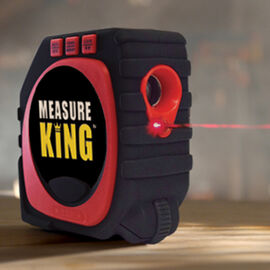 Measure King 3-1 Measuring Tape (Requires 4AAA Batteries - not inc)