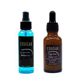 CB&CO: 2 Piece Set - Hyaluronic Acid, Aloe Retinol & Vitamin C Elixir - 30ml & Santizer Spray
