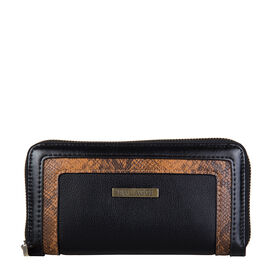 Bulaggi Collection- Fleur Wallet (Size 19x10x01 Cm) - Black