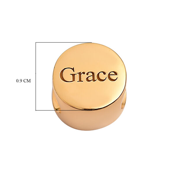 Personalised Engraved Round Charm
