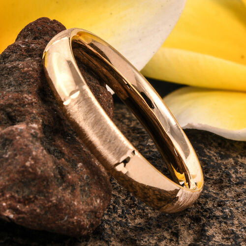 Royal Bali Collection 9K Yellow Gold Band Ring Gold Wt 1.55 Grams