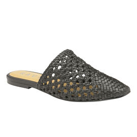 Ravel Inglis Leather Slip-On Shoes in Black Colour