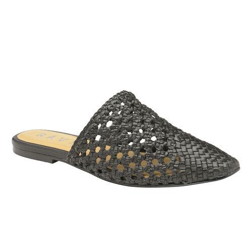 Ravel Inglis Leather Slip-On Shoes (Size 4) - Black