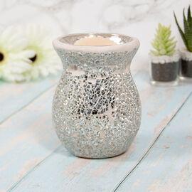 Lesser & Pavey - Mosaic Silver Glass Wax Melt & Oil Warmer
