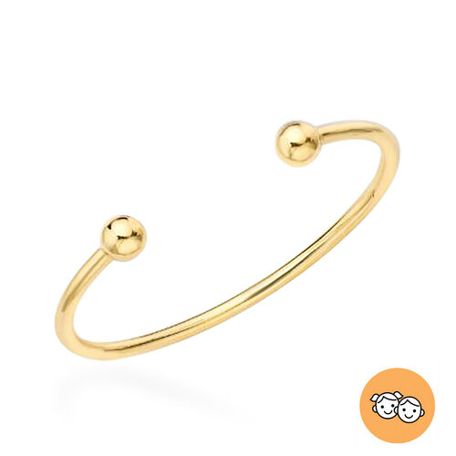 Child Torque Bangle in 9K Gold 3 grams Size 5 Inch
