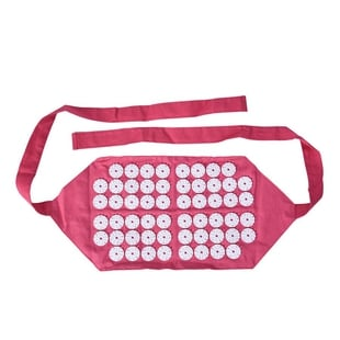 AAcupressure Belt (Size 45x21cm) - Pink and White
