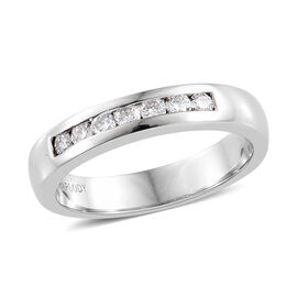 RHAPSODY 0.25 Ct Diamond Eternity Band Ring in 950 Platinum IGI Certified VS EF