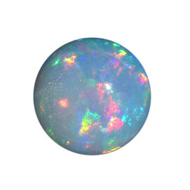 Ethiopian Opal Round 12 Cabochon 1A 3.75 Cts