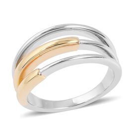 RACHEL GALLEY Cerchio Ring in Gold Plated Sterling Silver 5.40 Grams