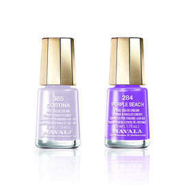 Mavala: Cortina - 365 & Purple Beach - 284 (Duo Mini Colour 2x5ml)