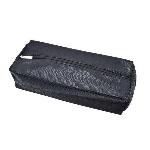 Maelle: Removable Beauty Bag ( 30X8X7 CM )  in Black Colour