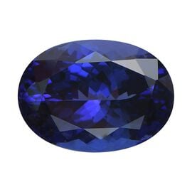 IGI Certified AAAA Tanzanite Oval Mixed Cut 16.24x11.75x8.24mm 11.31Cts