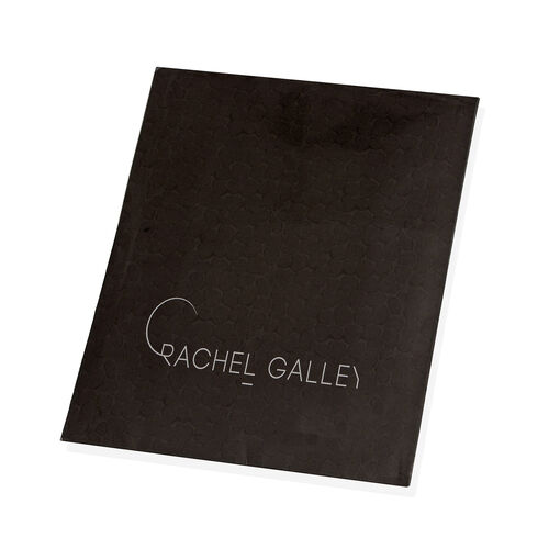 RACHEL GALLEY Pebble Design Digital Printed Golden Yellow and Grey Pareo Scarf (Size 180x70 Cm)