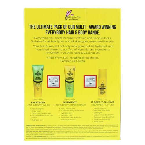 DR.PAW PAW: Everybody 3 Piece Range Set (Shampoo, Body Wash & Hair & Body)