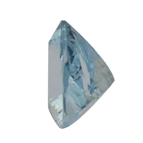 AAA Aquamarine Trillion 11.5 Faceted 3.79 Cts