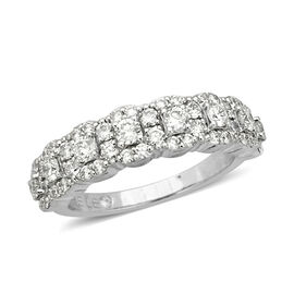 New York Close Out Deal - Leo Diamond (SI/G-H) 14K White Gold Ring 1.000 Ct.