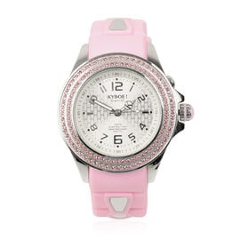KYBOE Radiant Collection Japanese Movement 100M Water Resistant Whimsy LED Watch in Stainless Steel