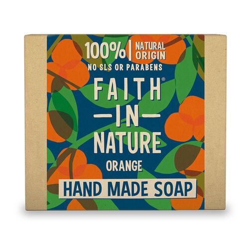 Faith In Nature: Orange Soap - 100g