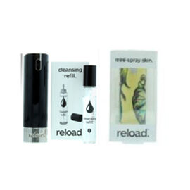 Reload Mini Perfume Spray Black (Incl. Cleansing Refill & Skin Man Tattoo)