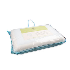 Memory Foam Gel Pillow Molded with Removable Pillow Case (Size 60X40X14 Cm)