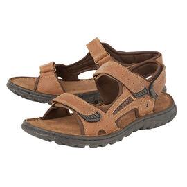 Lotus Douglas Mens Strap Sandals - Tan