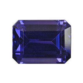 AAAA Tanzanite Octagon 12.42x9.34x7.57 Faceted 8.57 Ct.
