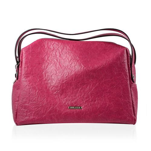 Bulaggi Collection - Sabrina Shoulder Bag (Size 37x29x15 Cm) - Fuchsia