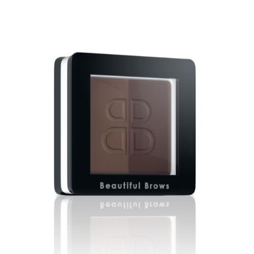 Beautiful Brows: Duo Brow Kit - Dark Brown/Chocolate