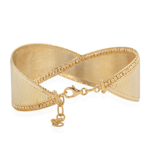 9K Yellow Gold Bangle (Size 7 and 1 inch Extender), Gold wt 12.24 Gms.