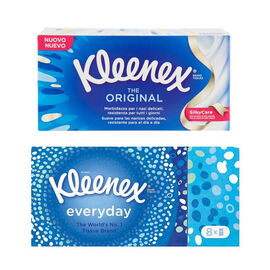 Kleenex: Original Everyday Tissues 8 Pack & Original Tissues 70s (Set)