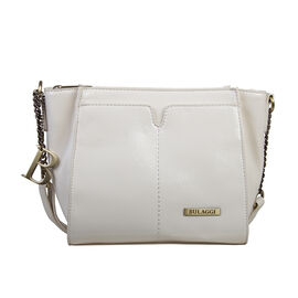 Bulaggi Collection Lily Crossbody Bag in Bone Colour