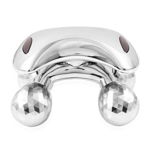 TJC Launch-Silver Colour 360 Degree Body Massager (Size 12X9X8 Cm)