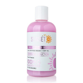 Sunset CBD: Body Wash Champagne Seduction (Plum & Freesia) - 240 ml (100MG)
