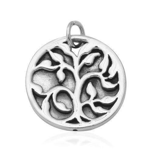 Tree Pendant in Thai Sterling Silver 3.95 Grams