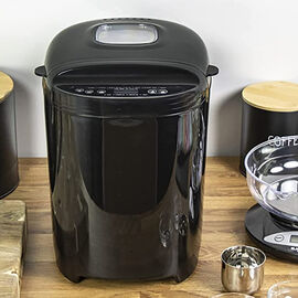 Bread Maker - 900g Capacity with 11 Digital Programmes (28X30 CM) -Black