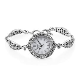 Royal Bali Collection Watch (7.5 - 8) in Sterling Silver, Silver wt 15 Gms