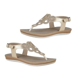 LOTUS Golden colour Sandals