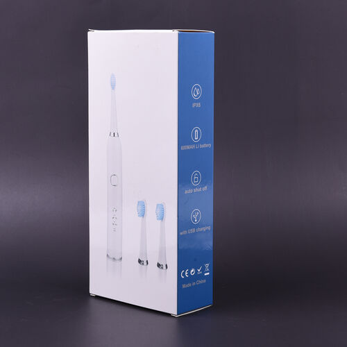 Close Out Deal - Sonic Toothbrush in White (with 3x Head & 3 Modes)