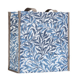 SIGNARE  - Tapestry Collection -Willow Bough Compartment Shopper (30x30x13.5cm)