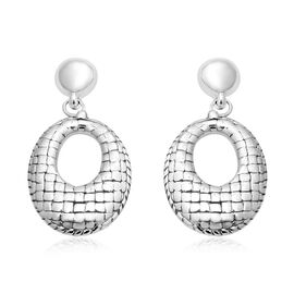 Drop Earrings in Sterling Silver with Push Back 11.44 Grams