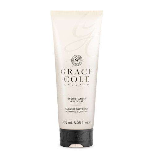 Grace Cole: Orchid Amber & Incense  Musk Body Scrub - 238ml