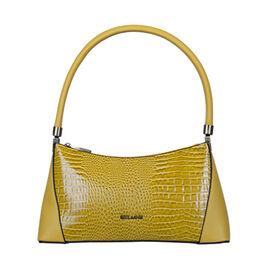 Bulaggi Collection - Hortense Baguette Handbag (Size 31x16x8cm) - Yellow