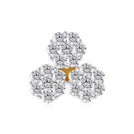 9K Yellow Gold SGL CERTIFIED Diamond (Rnd) (I3/G-H) Pendant  0.250 Ct.