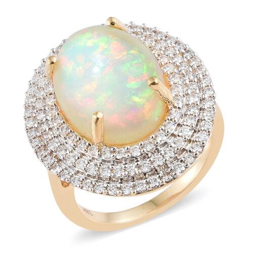 Iliana Ethiopian Opal Ring