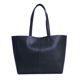 Assots London Abingdon Full Grain 100% Genuine Leather Tote Bag with Magnetic Closure (Size 32x12x28