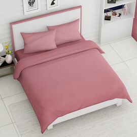 Super Auction - 4 Piece Set - Super Soft Copper Infused 1 Fitted Sheet, 1 Flat Sheet and 2 Pillowcas